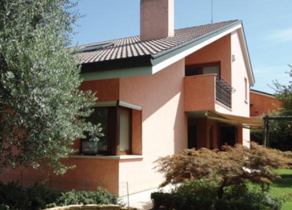 Rimozione umidit dai muri in villa privata grazie a biodry - Umidita muri esterni casa ...
